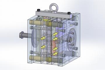3d модель прессформы